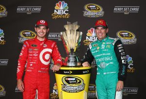 Both Ganassi drivers make this year's Chase for the Sprint Cup (Sarah Crabill/Getty Images North America photo).