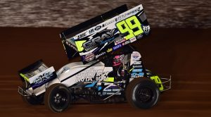 Brady Bacon and Richard Marshall have partnered in Bacon-Marshall Racing, with Bacon expanding his winged sprint car schedule next year! (CSP/Chris Seelman photo)